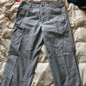 Calvin Klein Grey Dress Pants